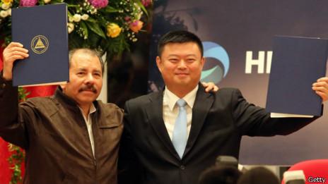 Daniel Ortega y Wang Jing