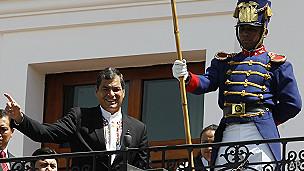 Correa dice que habrá soberanía en decisión