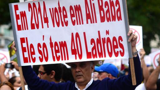Protesto / AFP
