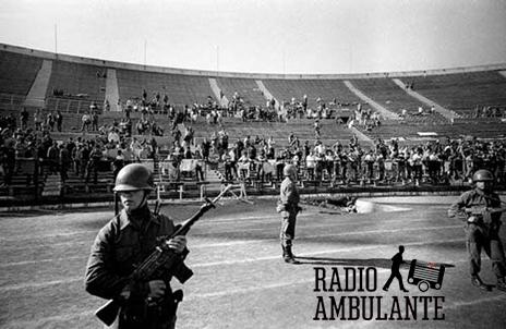 Partido de fútbol durante el régimen de Pinochet (archivo)