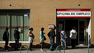 Agência de empregos na Espanha