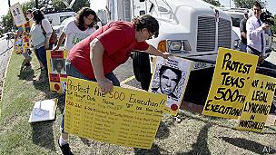 Protesta en Texas