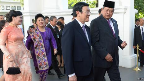 Chủ tịch Sang đã có nhiều chuyến công cán nước ngoài