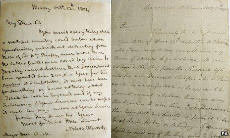 Cartas de Lord Nelson