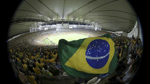 estadio, Copa Confederaciones, final, Brasil, España