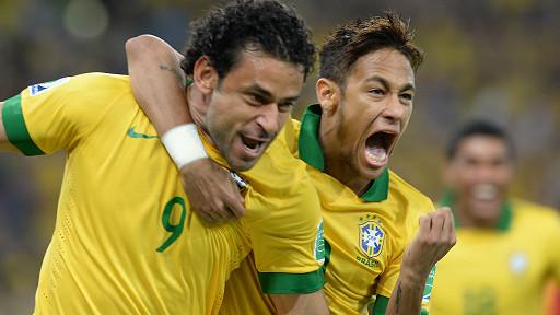 fred, Copa Confederaciones, final, Brasil, España