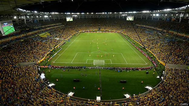 Final de la Copa Confederaciones en el Maracaná