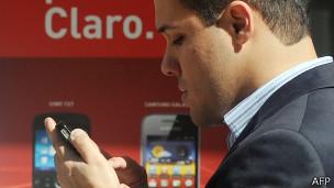 Loja de celular (AFP)