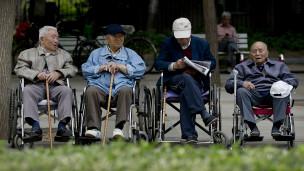 Çin'de yaşlılar