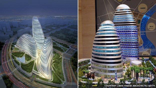 Dự án Soho ở Vọng Kinh