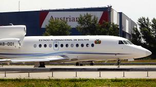 Avión presidencial boliviano