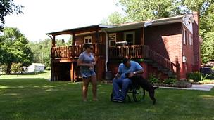 خانه جرامایا آبروگست در فورت اشبی ویرجینیای غربی