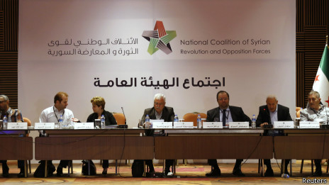 اجتماعات الائتلاف الوطني السوري