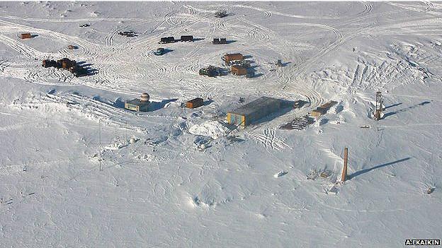 Imagen de la Antártica