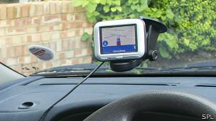 GPS con pantalla para el auto