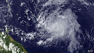 Chantal en el Caribe