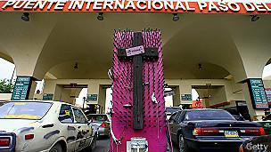 Cruce de El Paso a Ciudad Juárez
