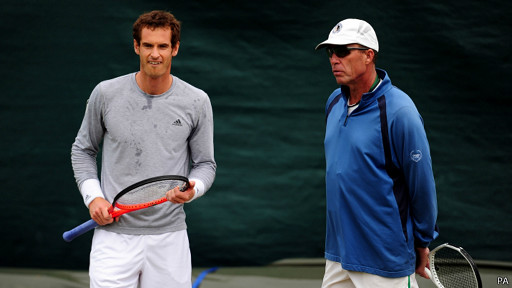Ivan Lendl dan Andy Murray