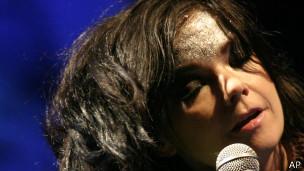 Björk, cantante islandesa