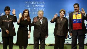 Líderes Mercosur