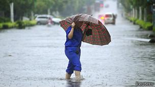 Inundación en China