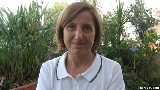 Maria Carmela Lanzetta, prefeita de Monasterace (crédito: Andrea Pupetti)