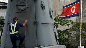 Barco interceptado en Panamá