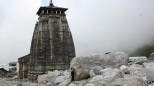 भारतीय पुरातत्व सर्वेक्षण विभाग: मंदिर को क्षति पहुँची है