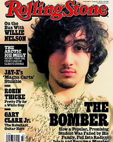 Portada de agosto de la revista Rollingv Stone dedicada a Dzhokhar Tsarnaev