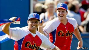 Pemain bisbol Kuba