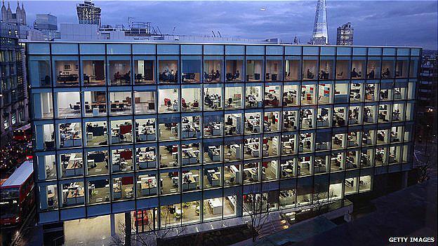 edificio de oficinas en Londres