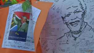 Comemoração do aniversário de Mandela / BBC