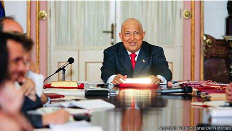 Hugo Chávez. Foto AVN
