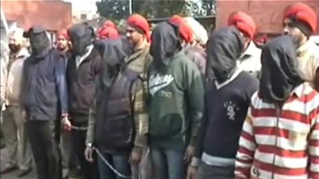 Một băng hiếp dâm tập thể ở Ấn Độ