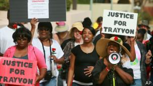 Justicia para Trayvon