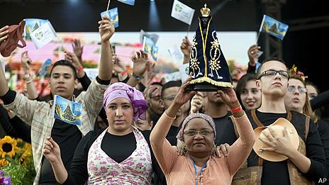 Católicos no Brasil - Foto: AP