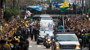 El Papa en Brasil
