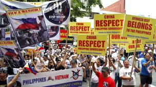 Phản đối Trung Quốc ở Philippines