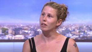 Caroline Criado-Pérez en la BBC