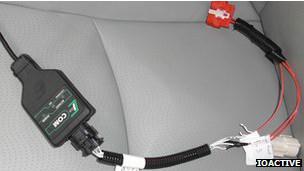 Cable para hackear carro