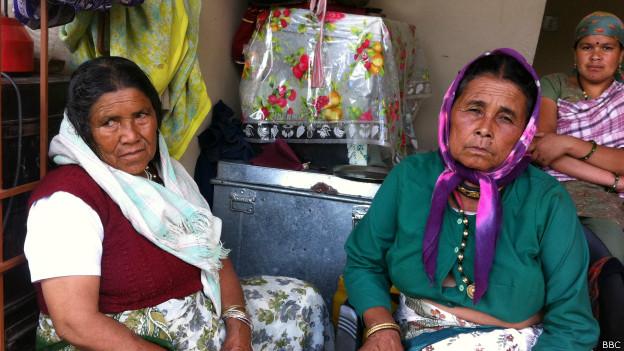 उत्तराखंड में आई बाढ़ से प्रभावित लोग.