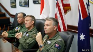 日美澳空军司令
