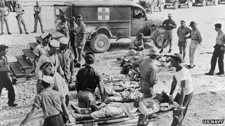 Sobrevivientes en Guam