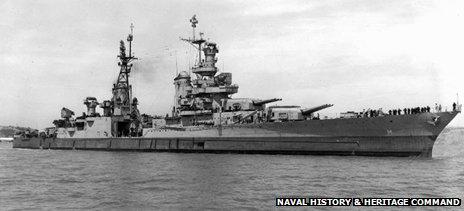 USS Indianapolis en 1945