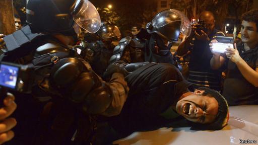 Protesto no Brasil (Reuters)