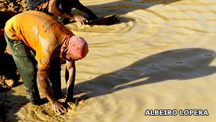 Minero artesanal. Foto: Albeiro Lopera