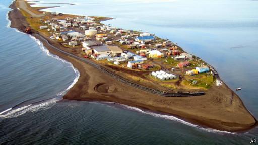 Kivalina, no Alasca | Foto: AP