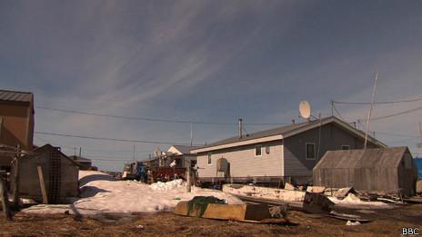 Kivalina, no Alasca | Foto: BBC