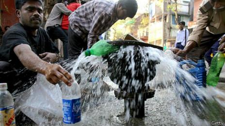 Agua en India