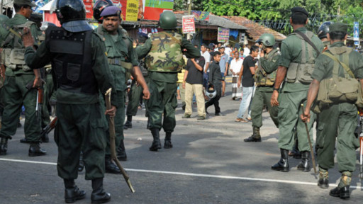 Army in Weliweriya